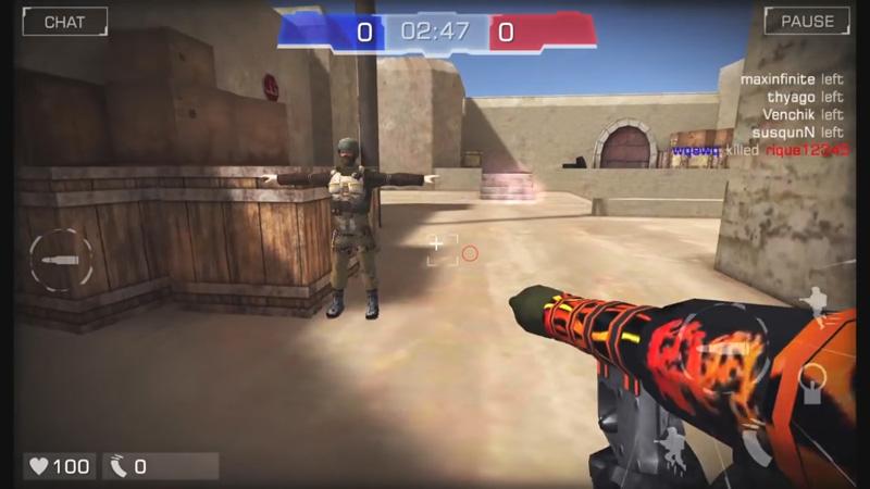 Bullet Party CS 2: Go Strike на телефон