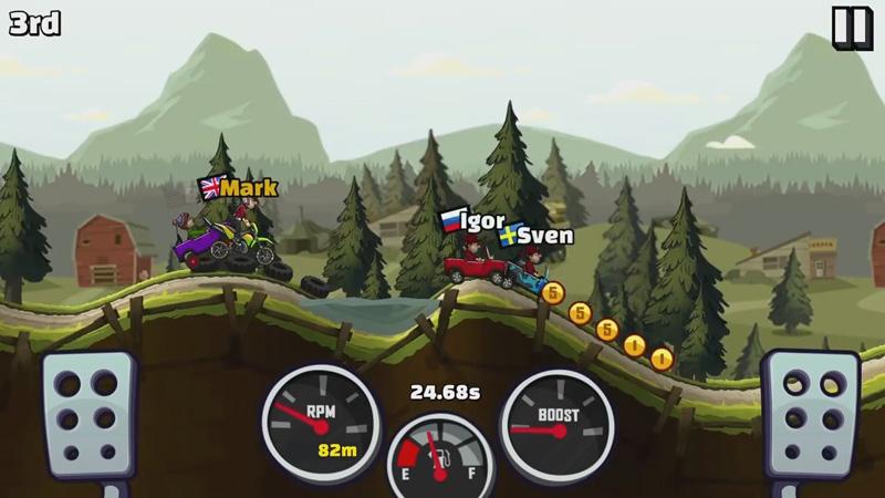 Hill Climb Racing 2 скачать