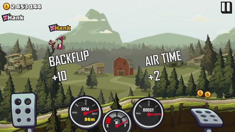 Hill Climb Racing 2 на телефон