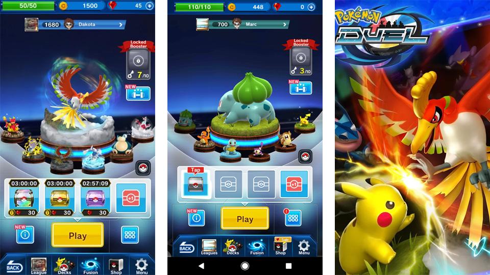 Pokemon Duel скачать