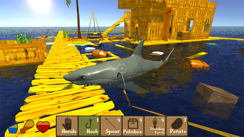 Raft Survival Simulator скачать