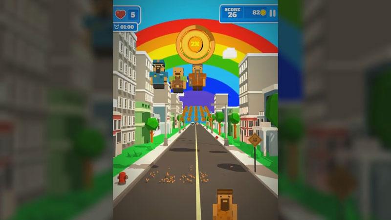 Road Hopper: Pixel Politics на телефон