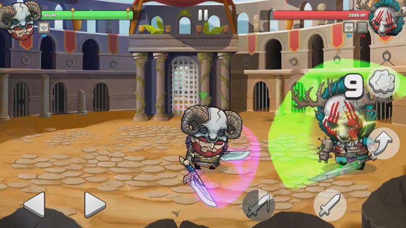 Tiny Gladiators на андроид