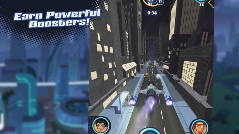 Justice League Action Run на андроид