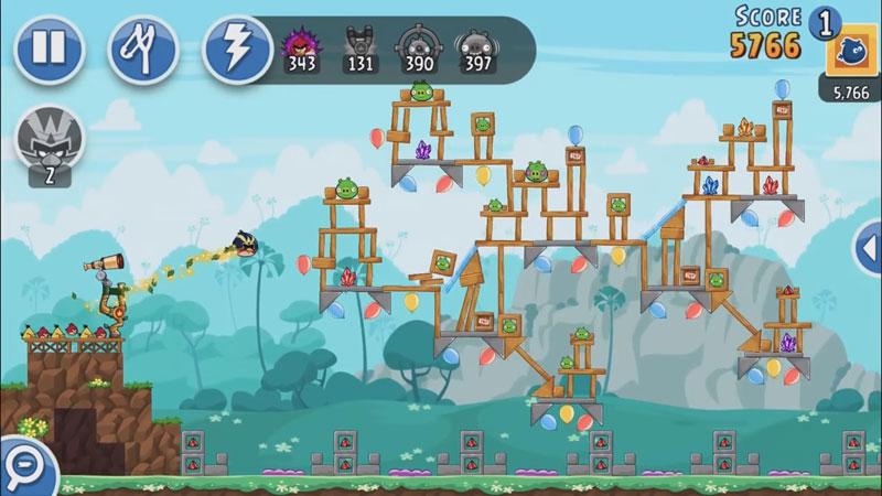 Angry Birds Friends: Новая версия на андроид