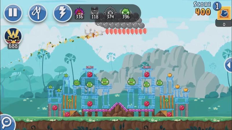 Angry Birds Friends: Новая версия скачать