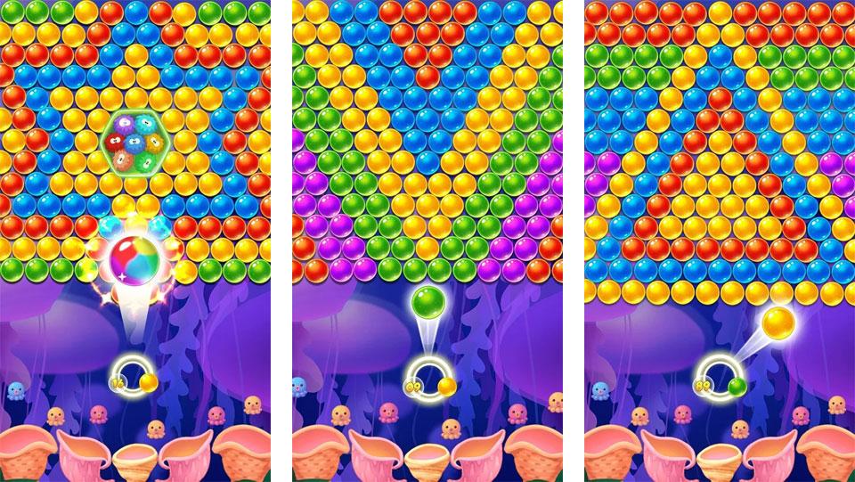 Bubble Shooter: Новая версия на андроид