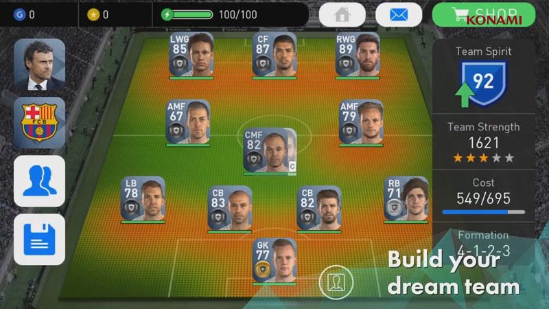 PES 2017 - Pro Evolution Soccer на андроид