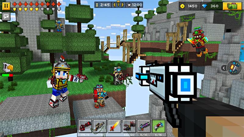 Pixel Gun 3D: стрелялки онлайн на андроид