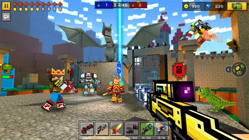 Pixel Gun 3D: стрелялки онлайн скачать