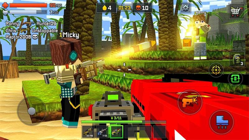 Pixelmon: стрелялки онлайн на андроид