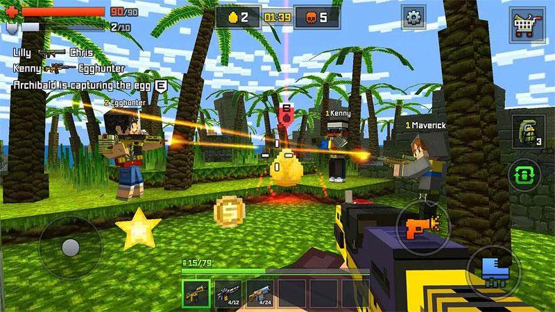 Pixelmon: стрелялки онлайн на телефон