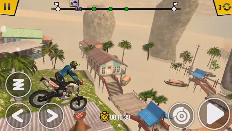 Trial Xtreme 4: Новая версия на андроид