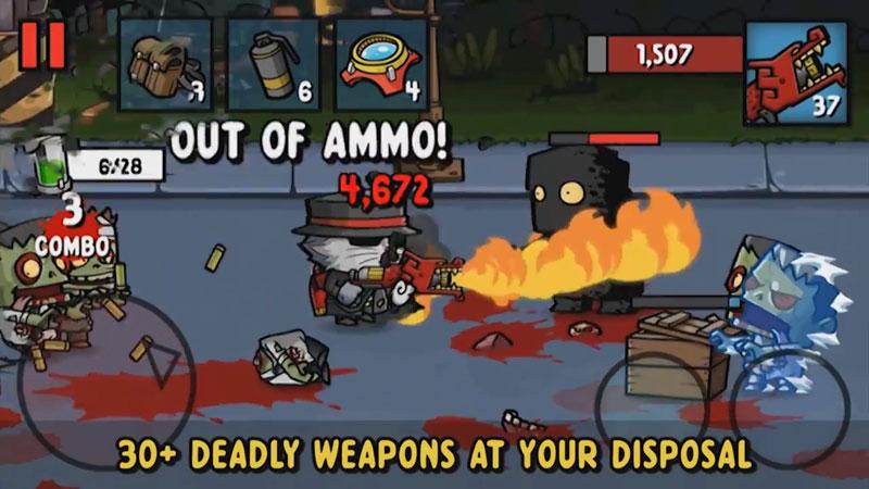 Zombie Age 3: Новая версия на андроид
