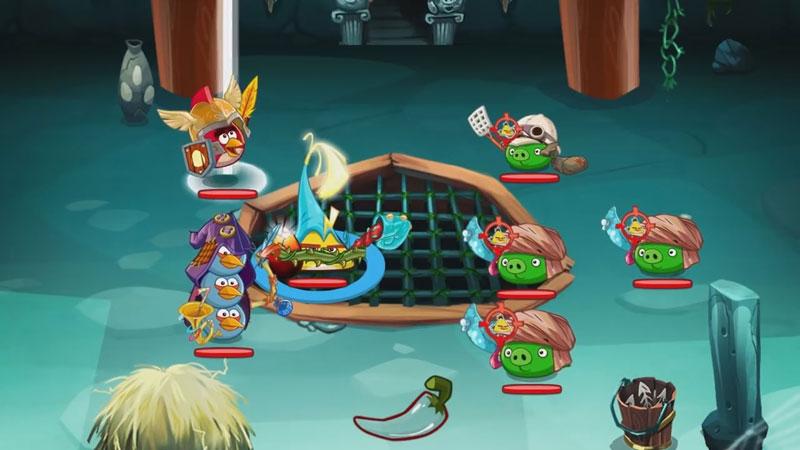 Angry Birds Epic RPG на андроид
