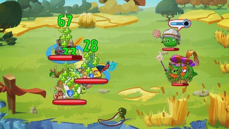 Angry Birds Epic RPG на телефон