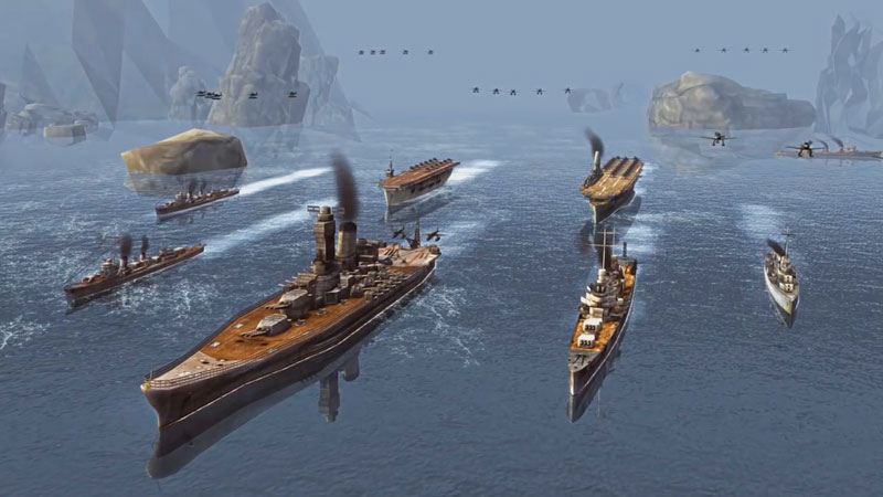 Battle of Warships скачать