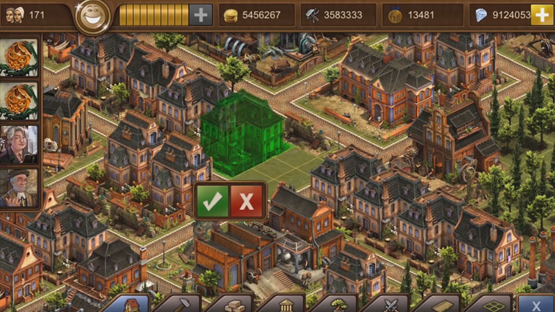Forge of Empires: Новая версия на телефон