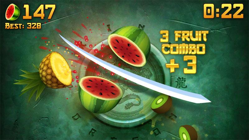 Fruit Ninja: Новая версия скачать