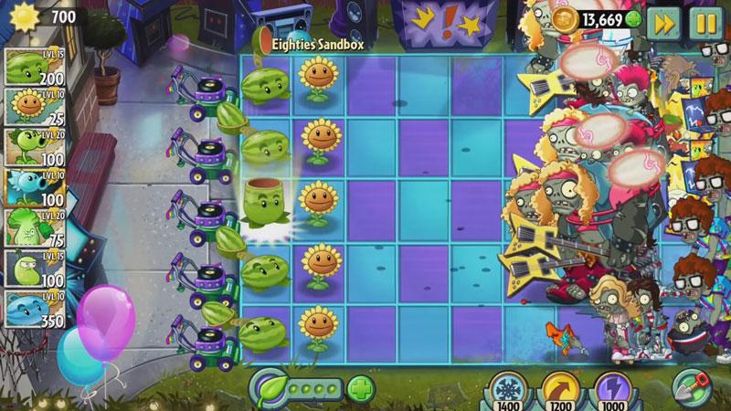 Plants vs Zombies 2: Новая версия на телефон