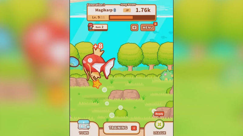 Pokemon: Magikarp Jump на андроид