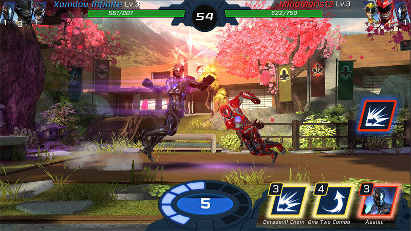 Power Rangers: Legacy Wars на телефон