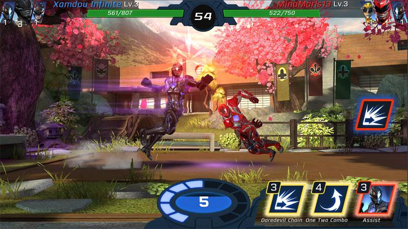 Power Rangers: Legacy Wars на телефон