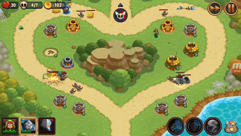 Realm Defense: Hero Legends TD на телефон