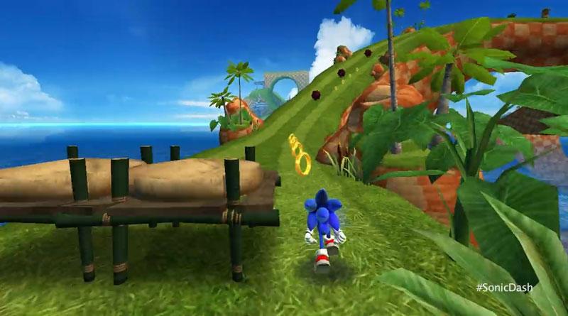 Sonic Dash: Новая версия скачать
