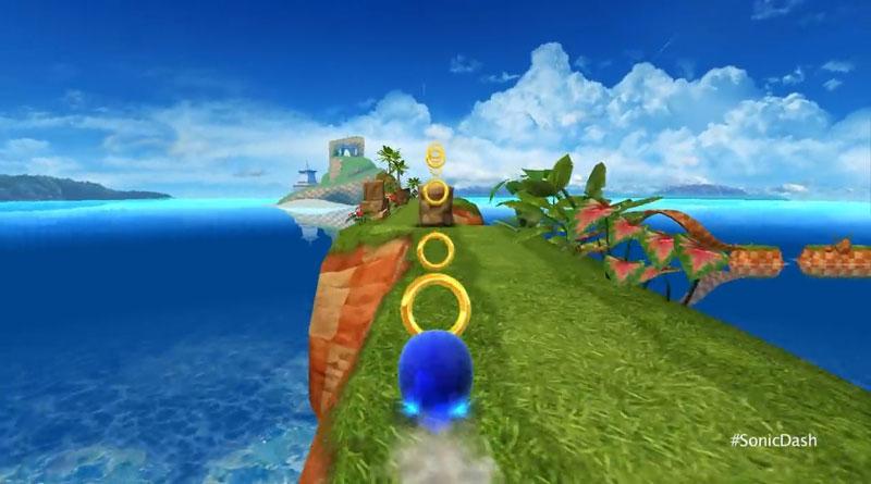 Sonic Dash: Новая версия на телефон