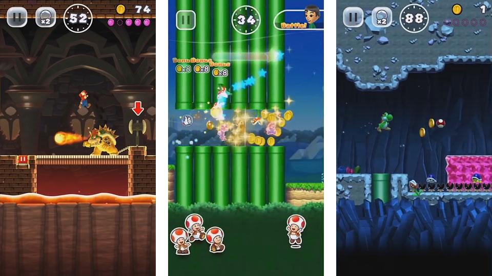 Super Mario Run на андроид
