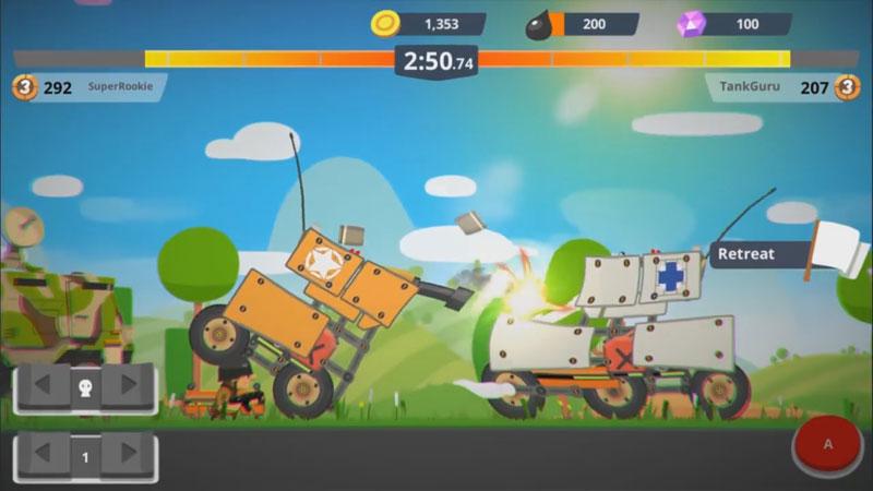 Супер битва танков на андроид