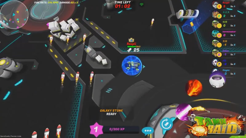 Танки онлайн 3D: Tank Raid на андроид