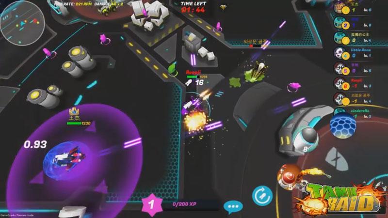 Танки онлайн 3D: Tank Raid на телефон