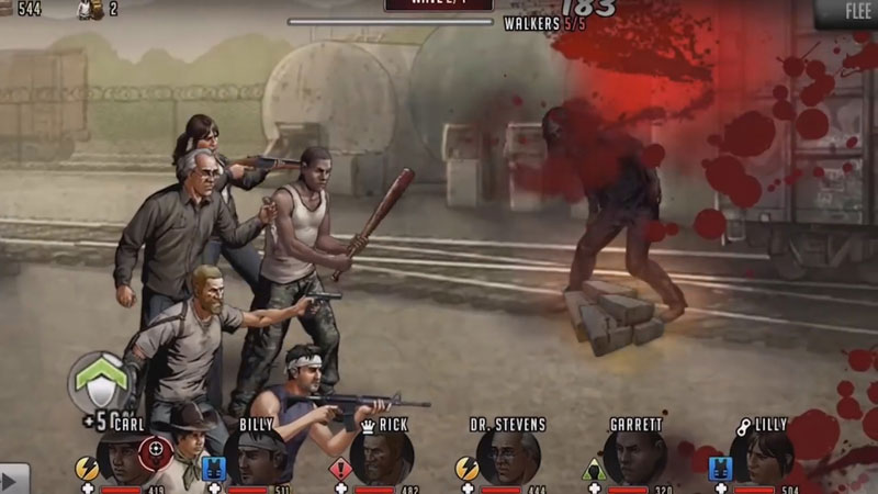The Walking Dead: Road to Survival на телефон