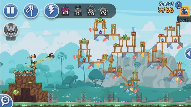Angry Birds Friends 3.5.0 на андроид