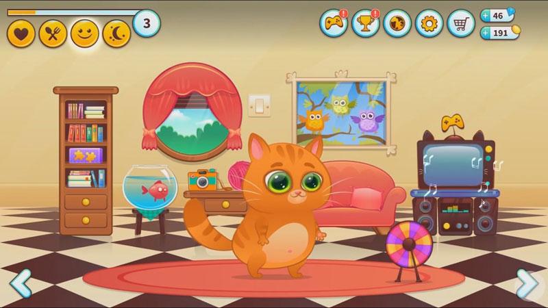 Bubbu — мой виртуальный питомец на андроид