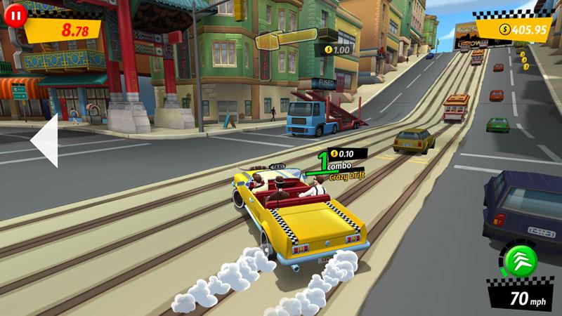 Crazy Taxi: City Rush - Новая версия скачать