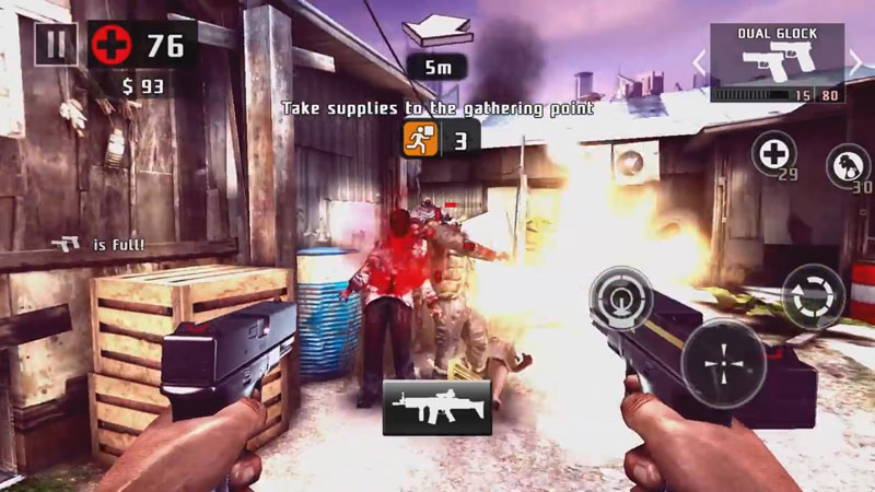 Dead Trigger 2: Лучшая зомби стрелялка на андроид