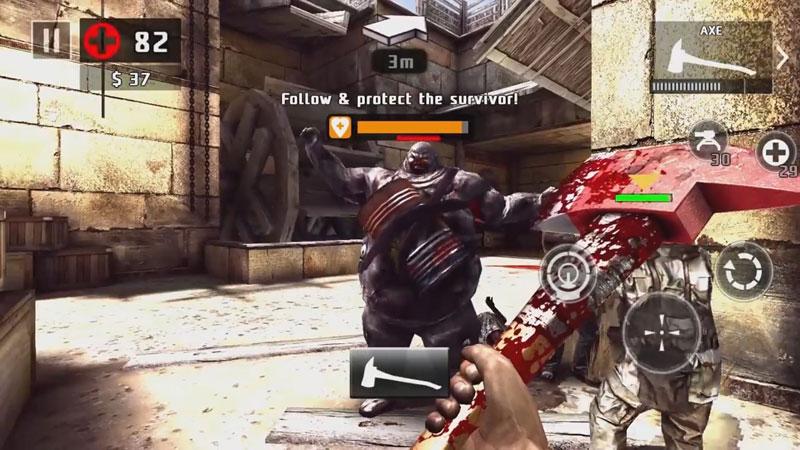 Dead Trigger 2: Лучшая зомби стрелялка на телефон