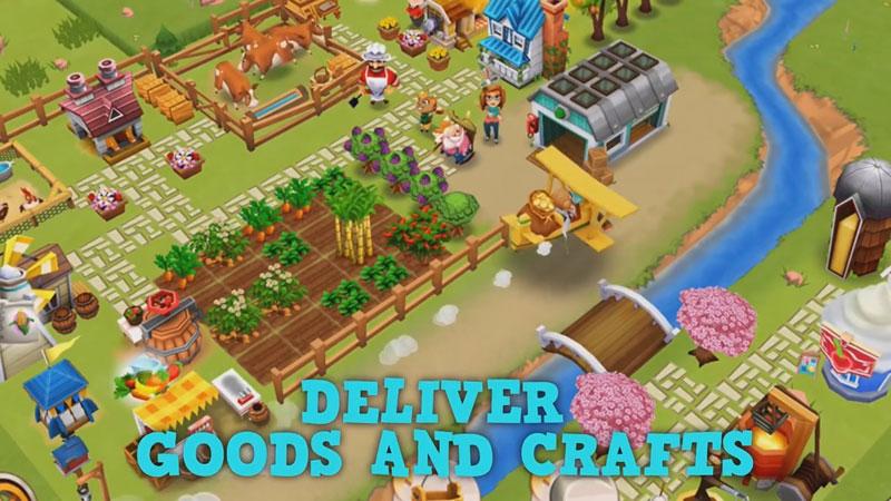 История фермы 2 на телефон
