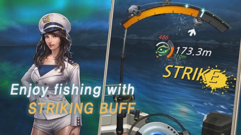 Рыболовный крючок на андроид