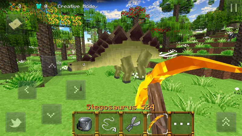 Jurassic Craft на андроид