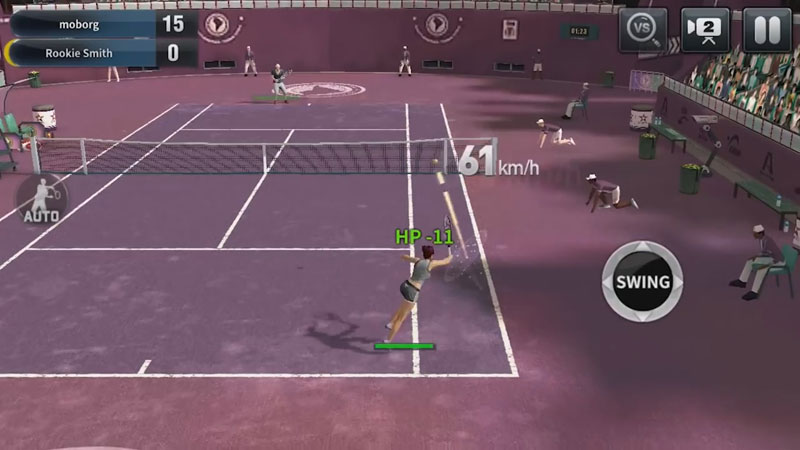 Ultimate Tennis на андроид