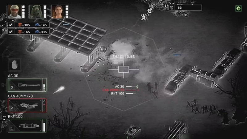 Zombie Gunship Survival на телефон