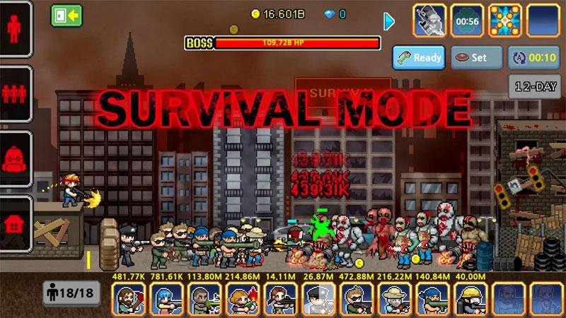 100 DAYS: Zombie Survail на андроид