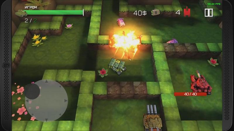 Block Tank Wars 2 скачать