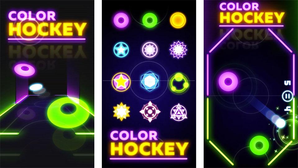 Цветной хоккей на андроид