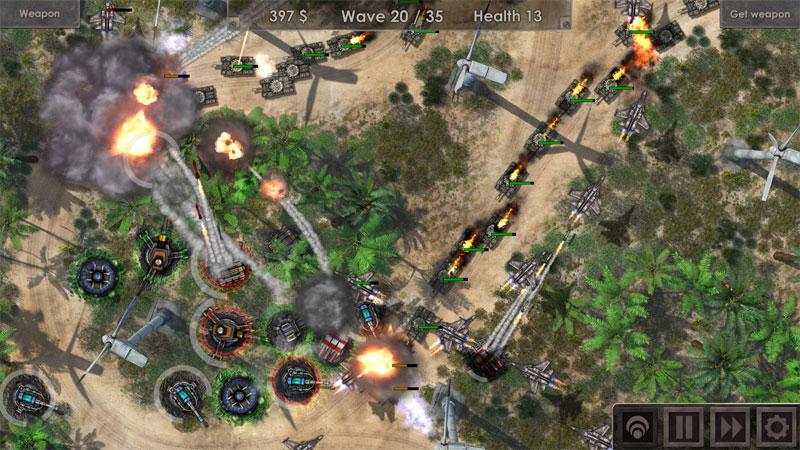 Defense Zone 3 HD на андроид