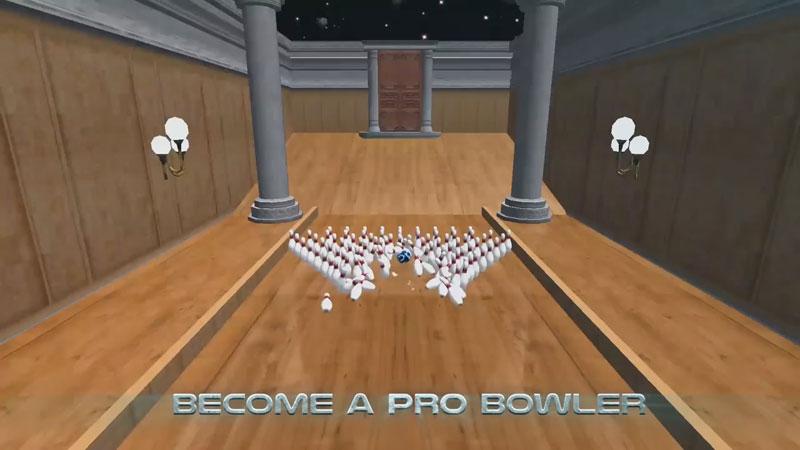 Боулинг: Galaxy Bowling на андроид
